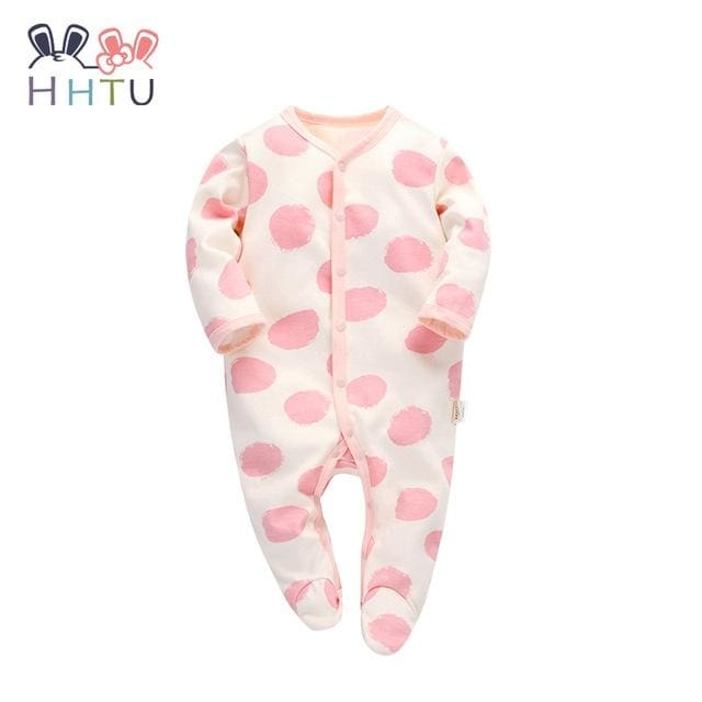 cc288587f New Newborn Baby Boy Girl Romper Clothes Long Sleeve Infant Product Fa