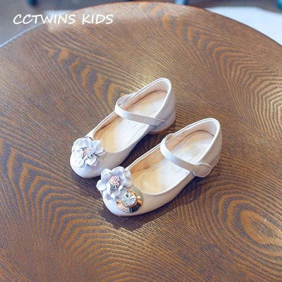 Pink Rhinestone Princess Shoe Girl - Gray / 13 - Girls
