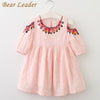 Princess Dress Children Clothing Half Sleeves - Girls