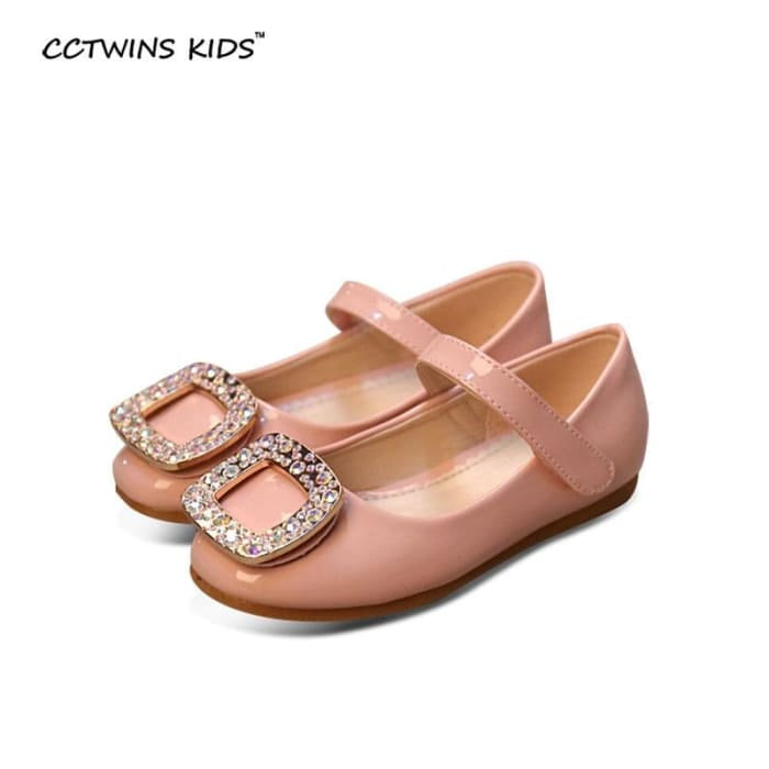 Rhinestone Princess Flats Baby Girl - Girls