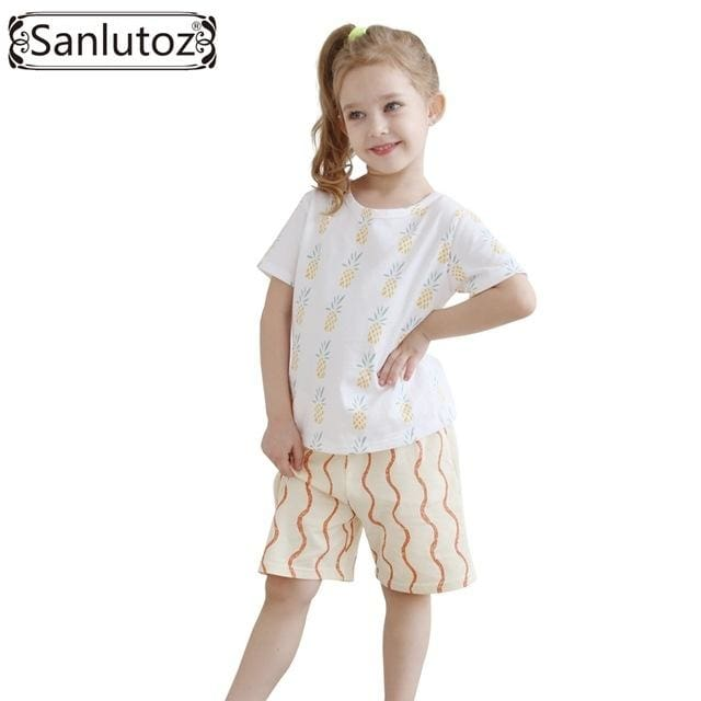 Sanlutoz Girls Clothes Summer Set - Girls