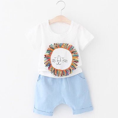 Sets Fashion Cartoon - Blue / 5Y - Boys