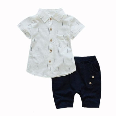 Shirt Outfit - Navy / 2Y - Baby Boys