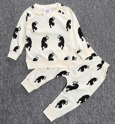 Short Sleeve T-Shirt + Pants Infant Clothing - Baby Boys