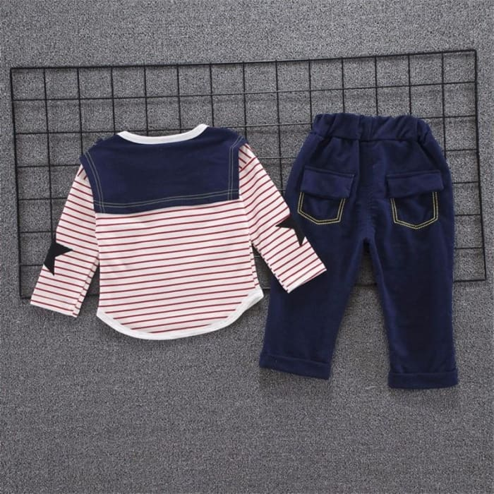 Spring Autumn Boys Fashion Clothing Suits 2Pcs - Baby Boys