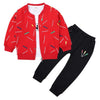 Spring Autumn Embroidery Sets Kids Cotton 3 Pcs Suit Clothes - Boys