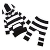 Stripe Long Sleeve Hoodies - Baby Boys