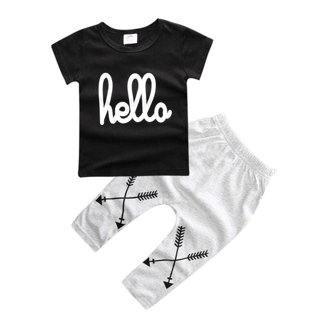 Summer Baby Set Casual Style - Boys