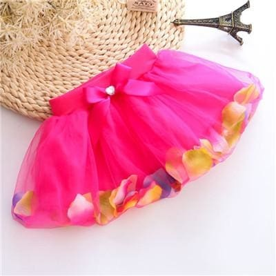 Summer Fluffy Soft Tulle Tutu Skirt - Girls