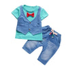 Summer Set For Boys Clothing Sport Suits Tops+Shorts - Baby Boys