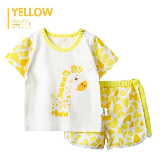 Summer Style Girls Sets Clothing - Baby - Outfit
