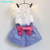 T-Shirt+Skirt Baby Suits - Girls