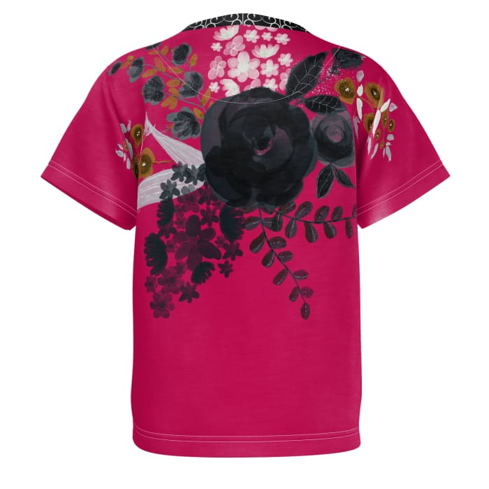 (Toddler) Fragrance Black Rose - Toddler Tshirt