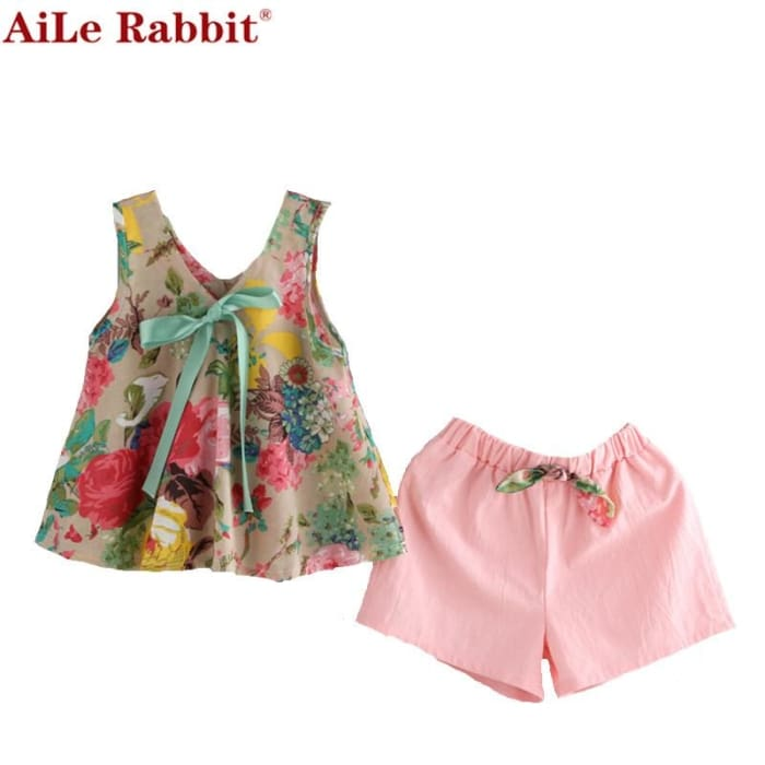 Toddler Girl Clothing Set - Girls - Outfit