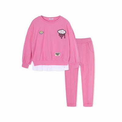 Toddler Girls Outfit - Pink / 2Y - Girls