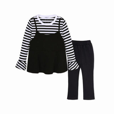 Toddler Girls Outfits - Black / 2Y - Girls