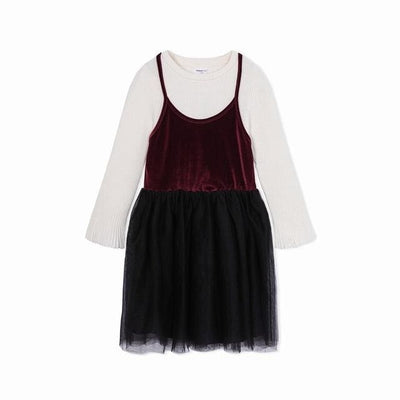 Toddler Girls Spring Dress - White / 2Y - Girls