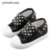 Top Stud Sneaker - Girls