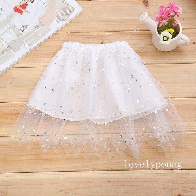 Tutu Skirt Dance - Light Purple - Girls