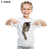 Unisex Summer Animal T Shirt - Girls