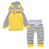 Warm Romper Jumpsuit Hooded Clothes - Baby Boys