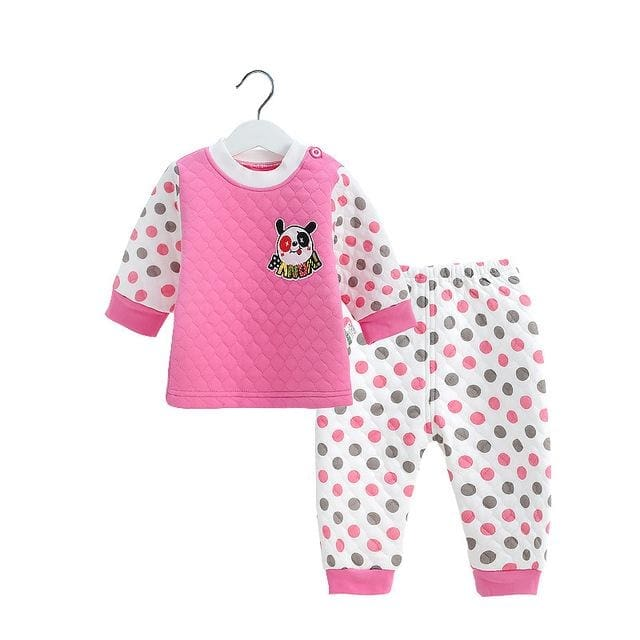 Winter Baby Long Sleeve Clothing Sets - Baby Girls