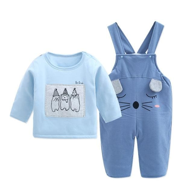Winter Clothes Jumper Sets Baby Boy Outfit - Baby Girls