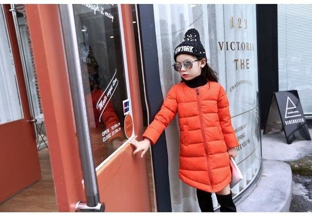 0a32770fd098 Winter Wear Long Jacket Baby Girl Outerwear