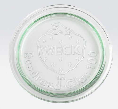 Weck Large Replacmet Lid Glass