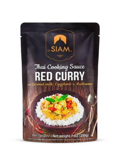 deSiam Thai Red Curry Cooking Sauce 200g - Kitchenalia Westboro