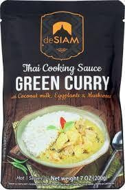deSiam Green Thai Curry Cooking Sauce 200g