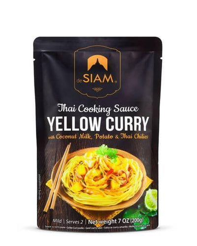 deSiam Yellow Thai Curry Sauce 200g