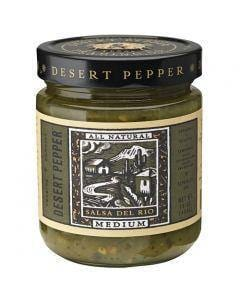 Desert Pepper Green Tomatillo Salsa Del Rio 473ml