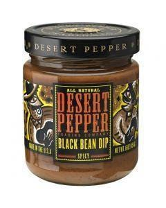 Desert Pepper Black Bean Dip - Spicy Hot 454g