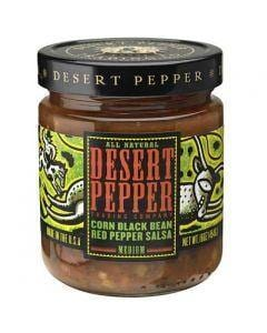 Desert Pepper Black Bean Salsa - Medium 454g