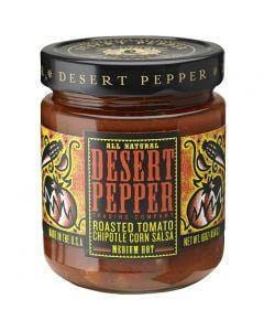 Desert Pepper Roasted Tomato Chipotle Corn Salsa - Medium 454g
