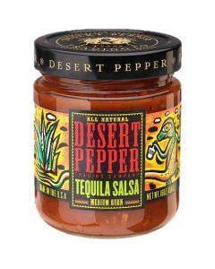 Desert Pepper Tequila Salsa - Medium 454g