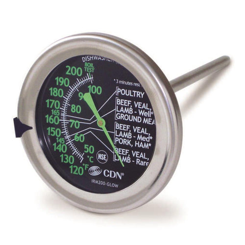 CDN Ovenproof Meat Thermometer Glow