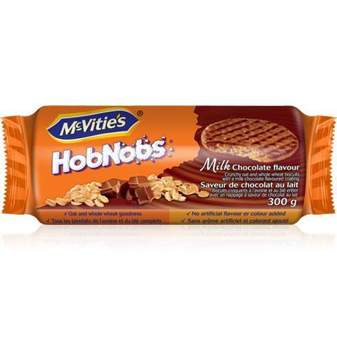 McVities Hobnobs Milk Chocolate 300g