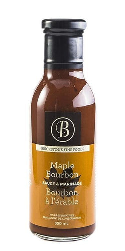 Brickstone Maple Bourbon Sauce 350ml