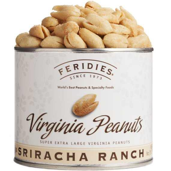Feridies Sriracha Ranch Virgina Peanuts - 9oz