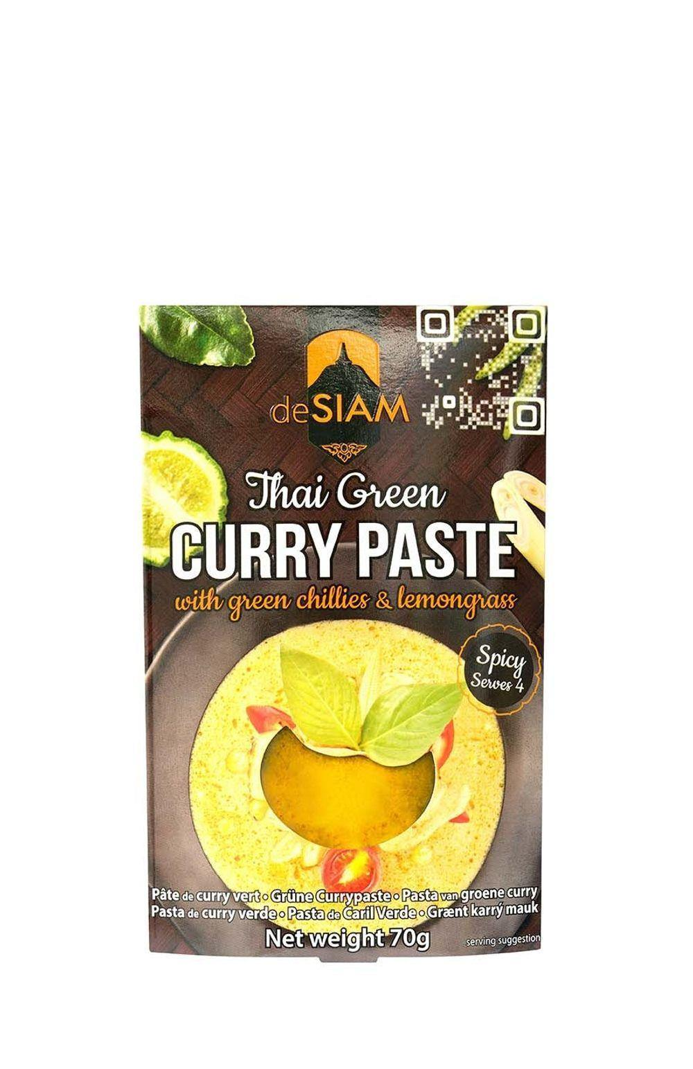 deSiam Green Thai Curry Paste 70g