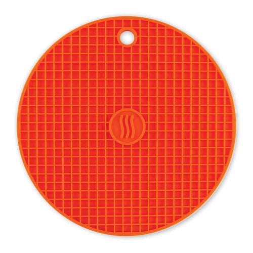 Thermoworks Silicone Trivet Orange