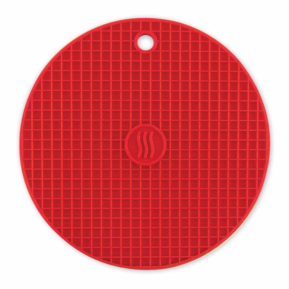 Thermoworks Silicone Trivet Red