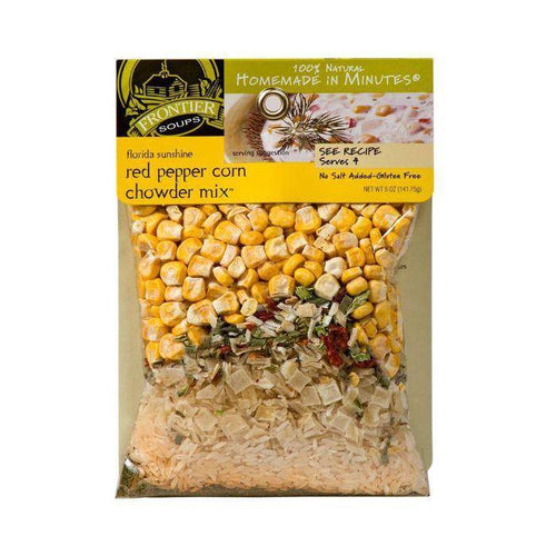 Frontier Red Pepper Corn Chowder Soup Mix Meals in Minutes 141g