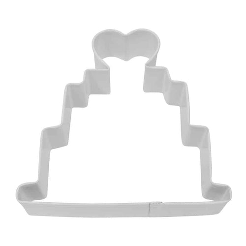 R&M Wedding Cake Cookie Cutter