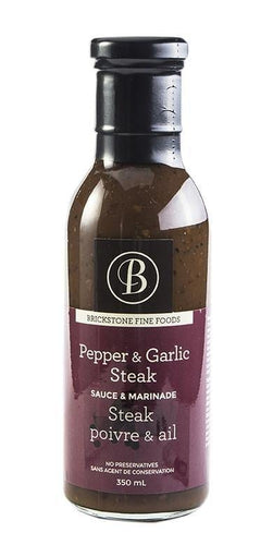 Brickstone Pepper & Garlic Sauce 350ml