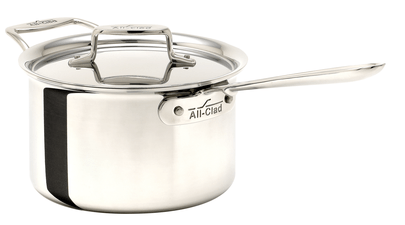 All-Clad D5 4Qt/3.7L Stainless Steel Sauce Pan