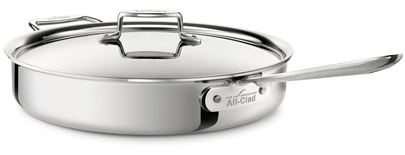 All-Clad D5 6Qt/5.6L Stainless Steel Saute Pan