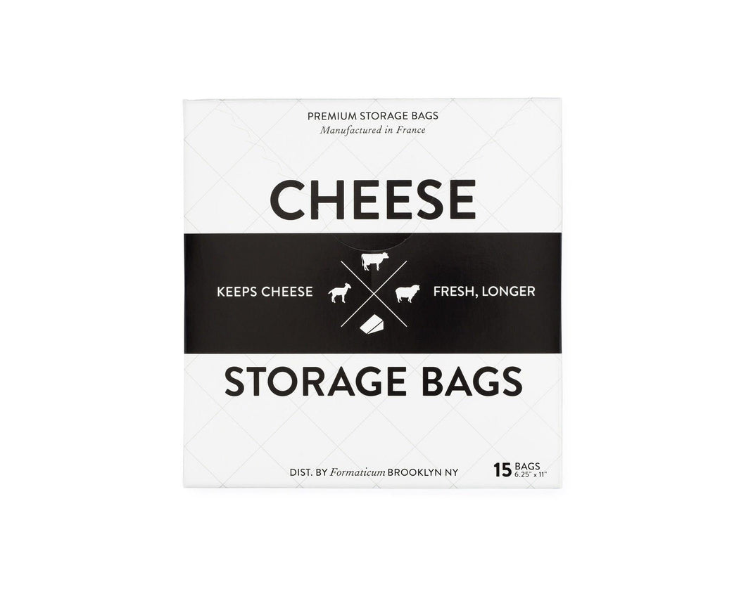 Formaticum Cheese Storage Bags 15 Pack